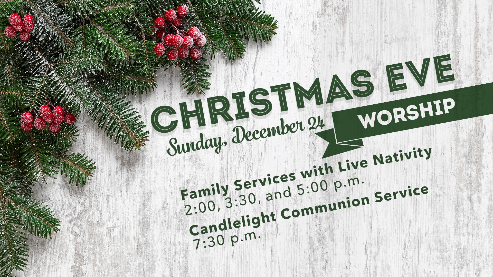 Christmas Eve Worship at Ingleside | Pastor\'s Blog
