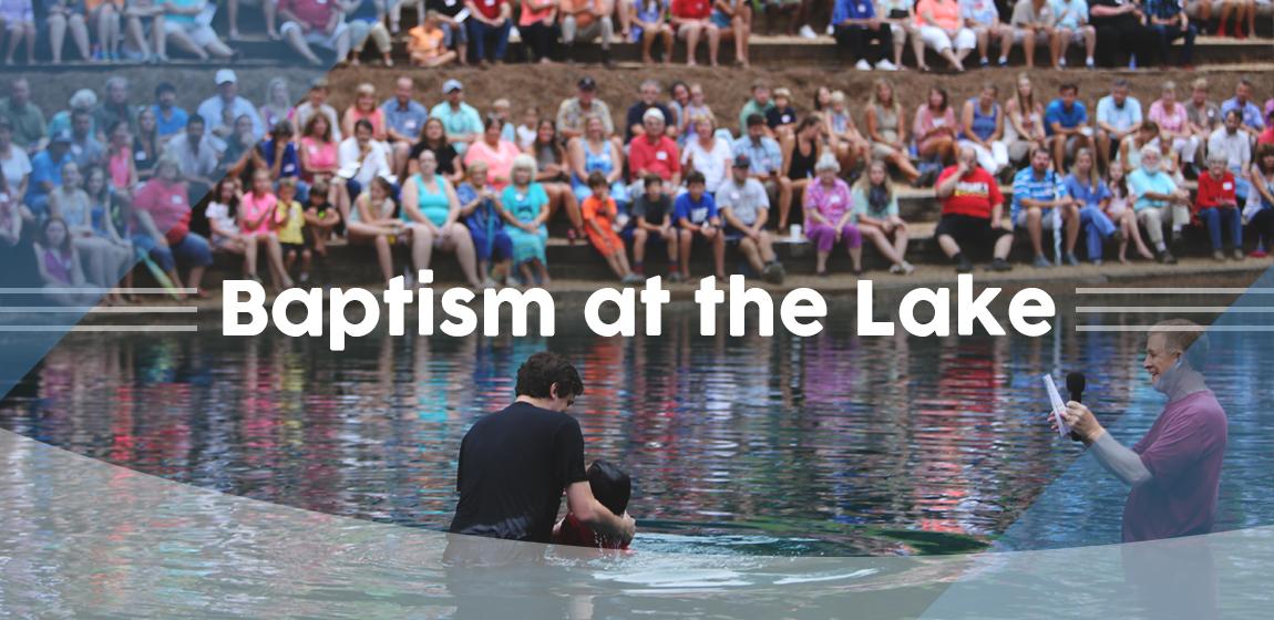 baptism at the lake 1