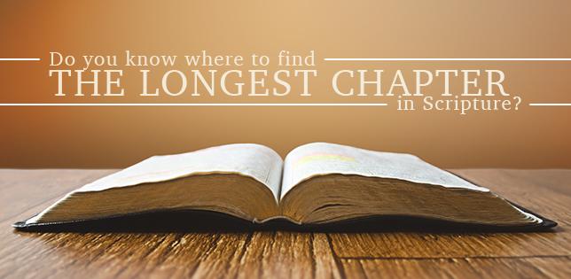 longest Chapter