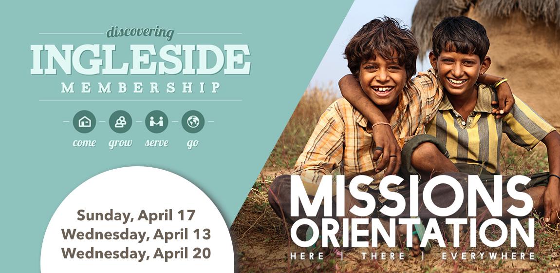 membership missions Inside Ingleside