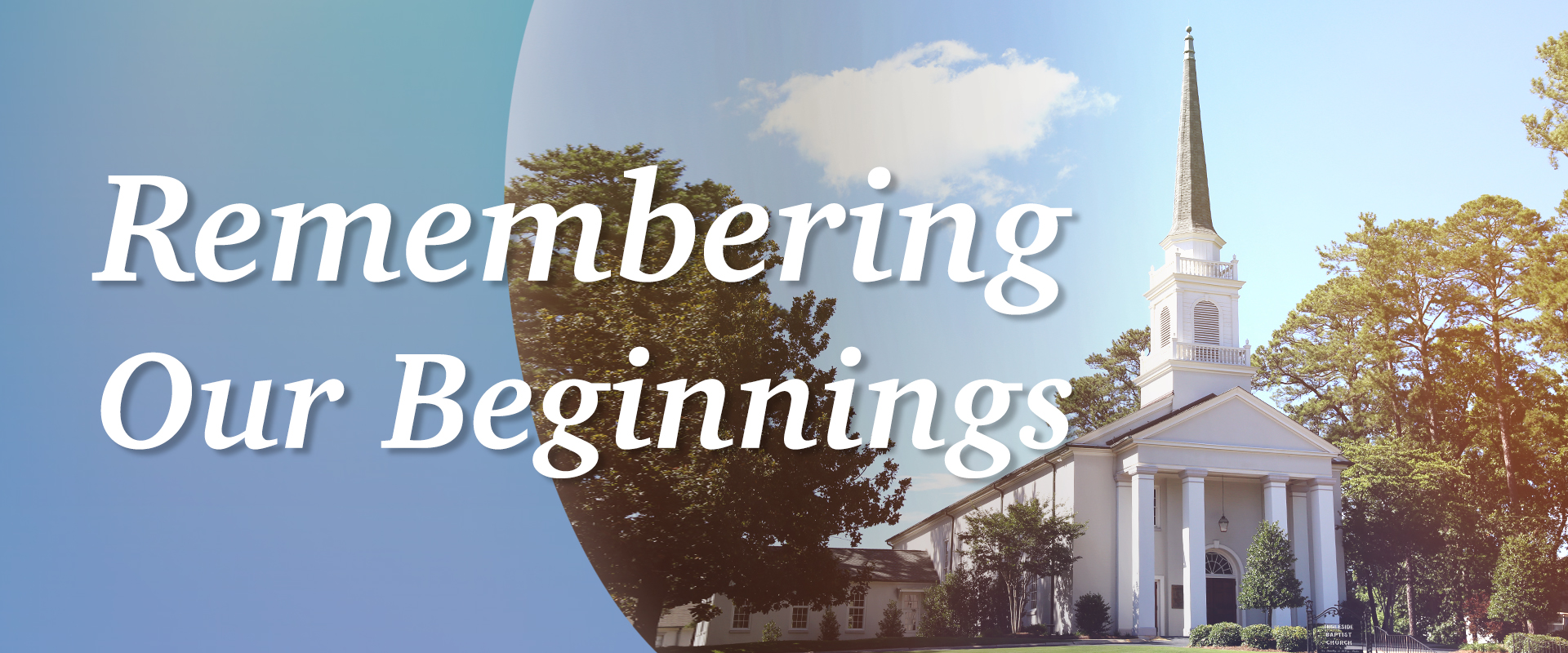 remembering our beginnings